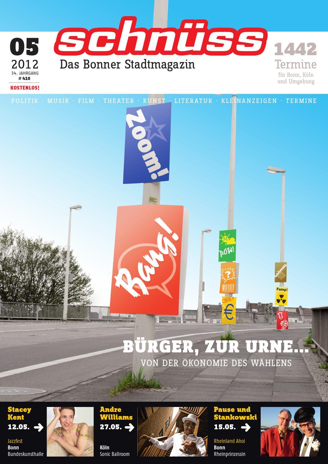 Schnüss 2012/05 by Schnüss - Das Bonner Stadtmagazin - issuu