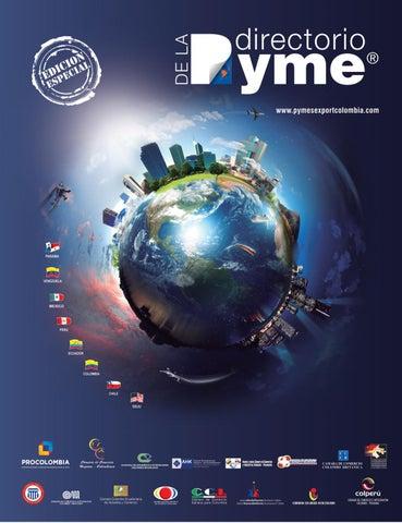 Directorio Pyme Export Colombia edición especial 2016 by Andre ... 062761ad0e437