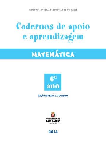 Caderno de aprendizagem matemática 6º ano by Lara Brito - issuu 70b143a949