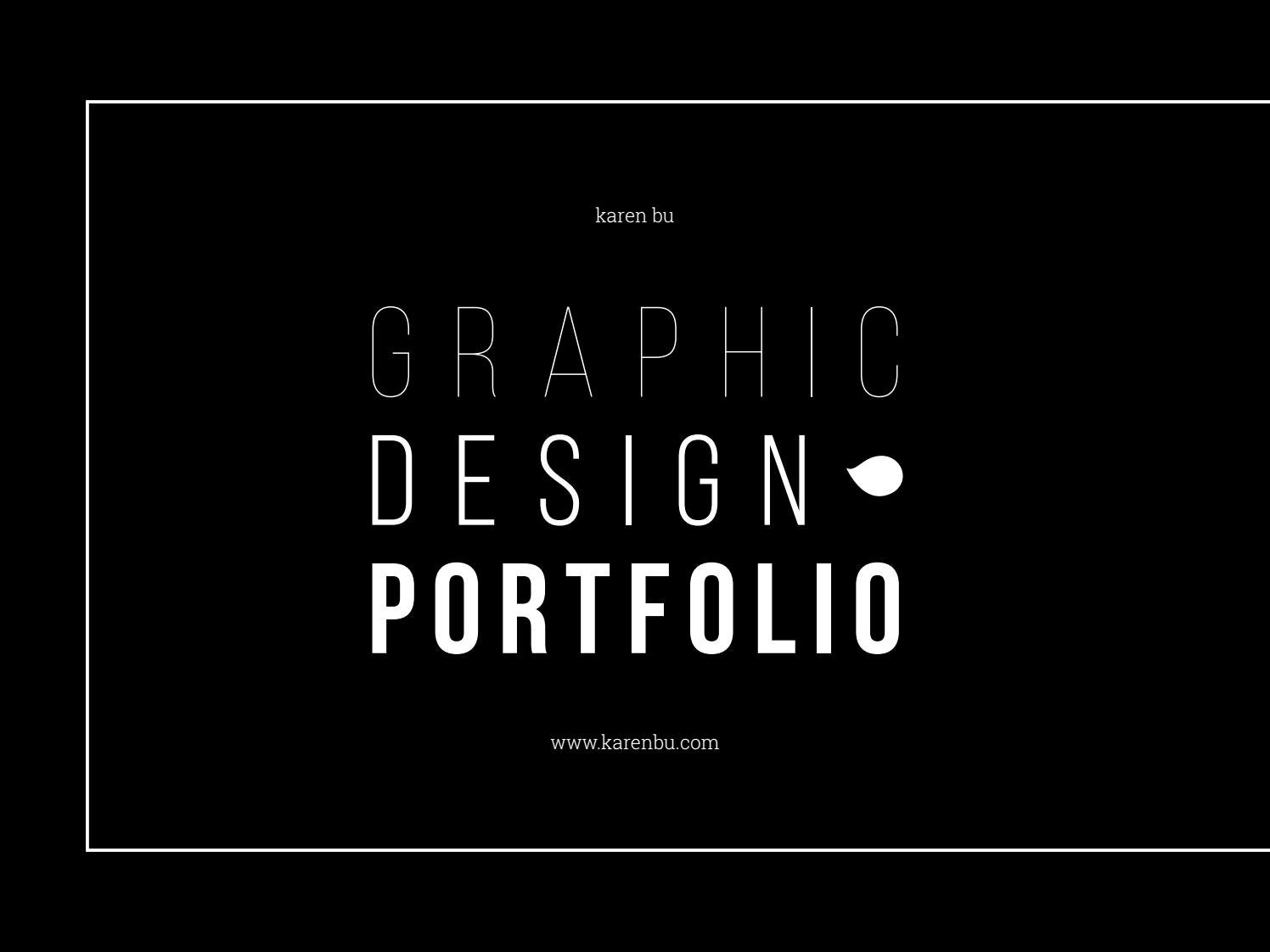 Graphic Design Portfolio August 2016 By Karen Bu Issuu
