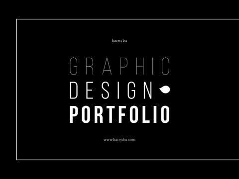Graphic Design Portfolio  August