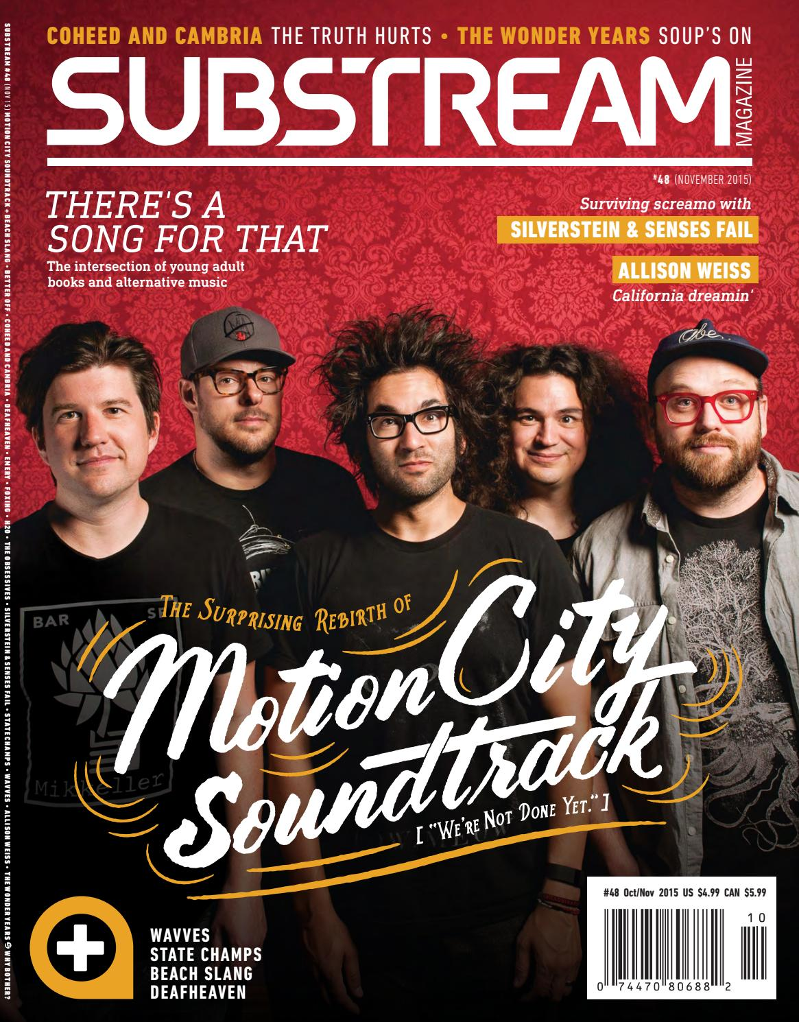 Substream Magazine Issue 48 Featuring Motion City Soundtrack By
