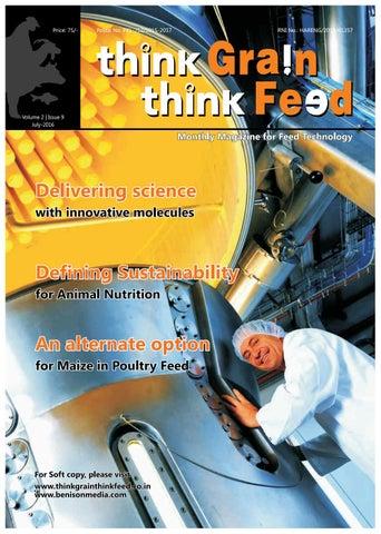Think Grain Think Feed July issue by ThinkGrainThinkFeed - issuu