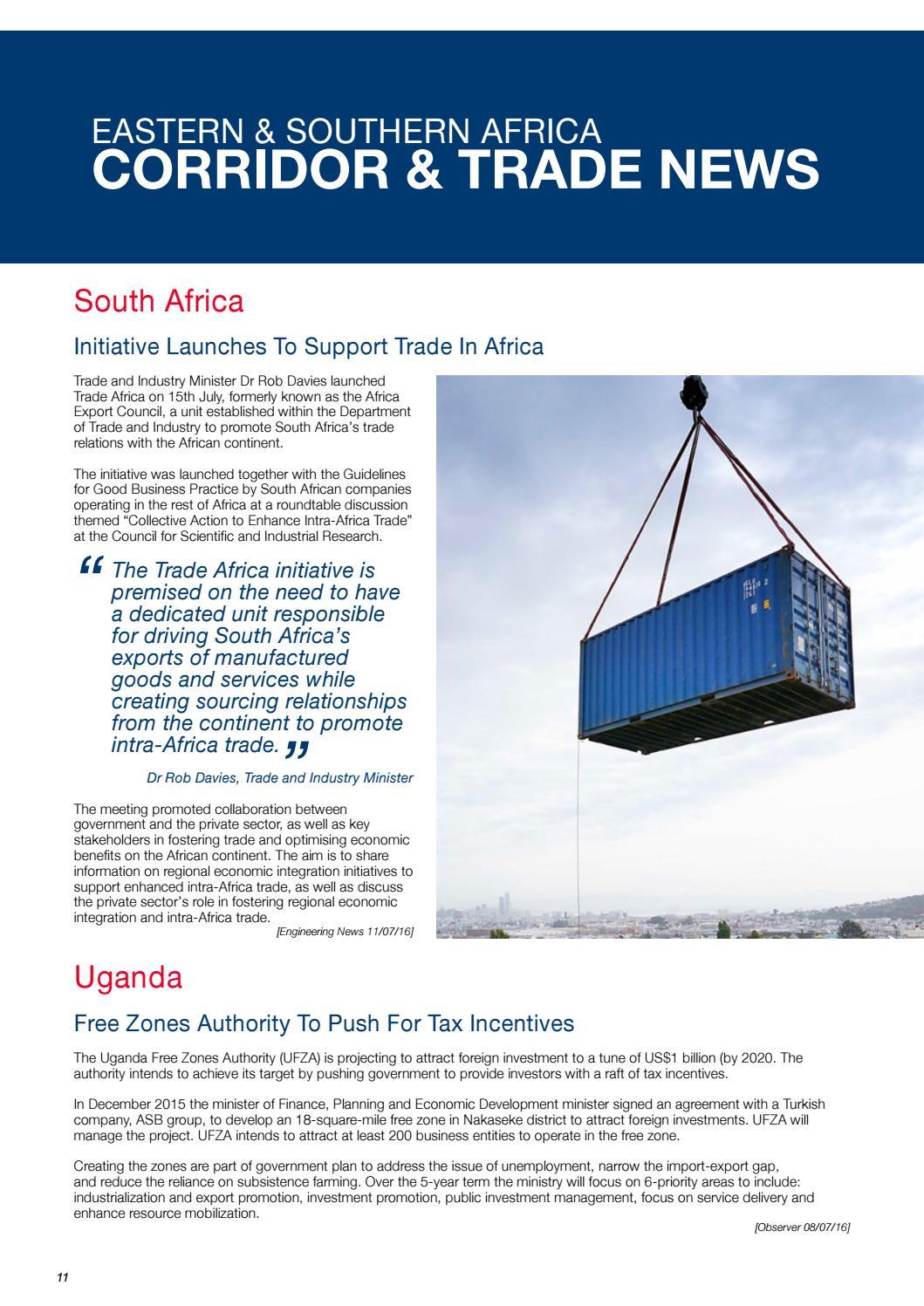 CMA CGM CTBL-Watch Africa - Issue 31 - July 2016 by CMA CGM Group