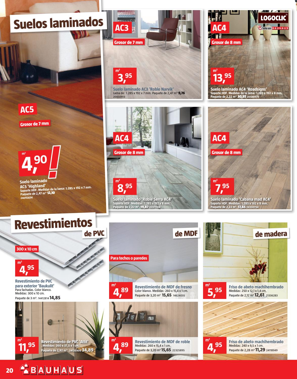 F8 esp by bauhaus issuu for Bauhaus madera a medida