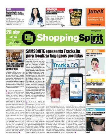 Jornal Shoppingspirit News 003 by Mediapearl, Lda - issuu e59295a051