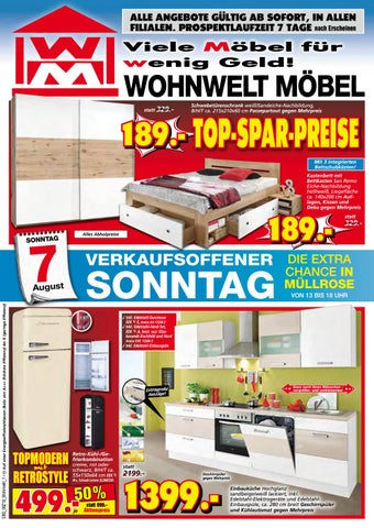 wohnwelt m bel m llrose 3 by m rkische onlinezeitung issuu. Black Bedroom Furniture Sets. Home Design Ideas