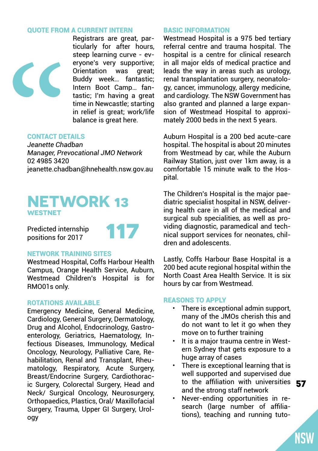 AMSA's 2016 Internship & Residency Guide by The Australian Medical
