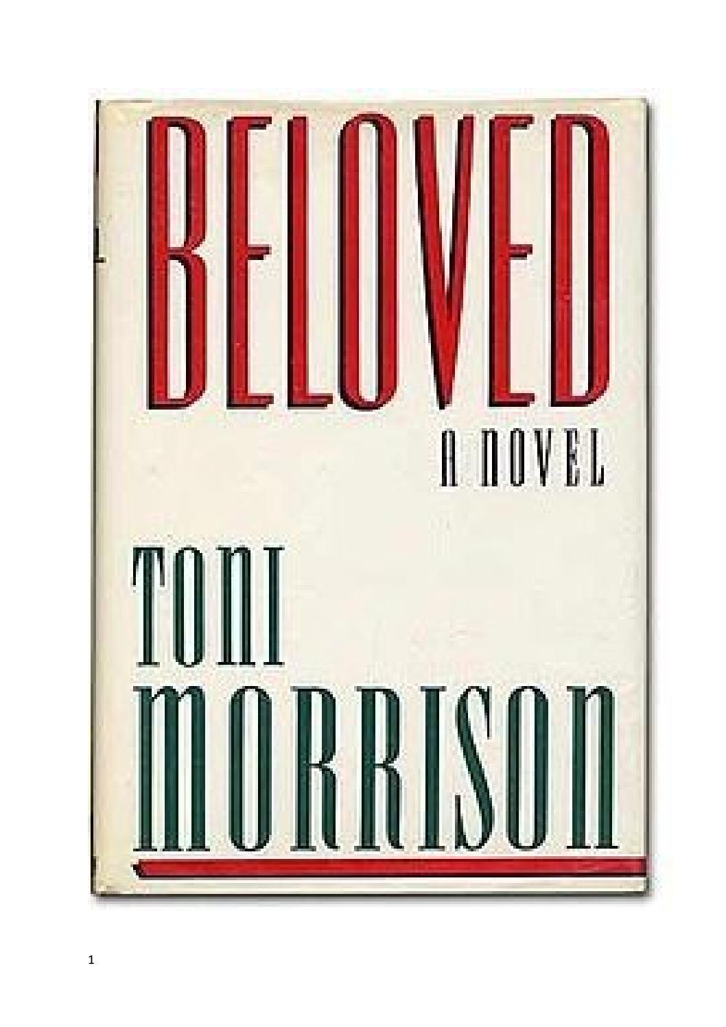 Beloved toni morrison by Jackie Harding - issuu