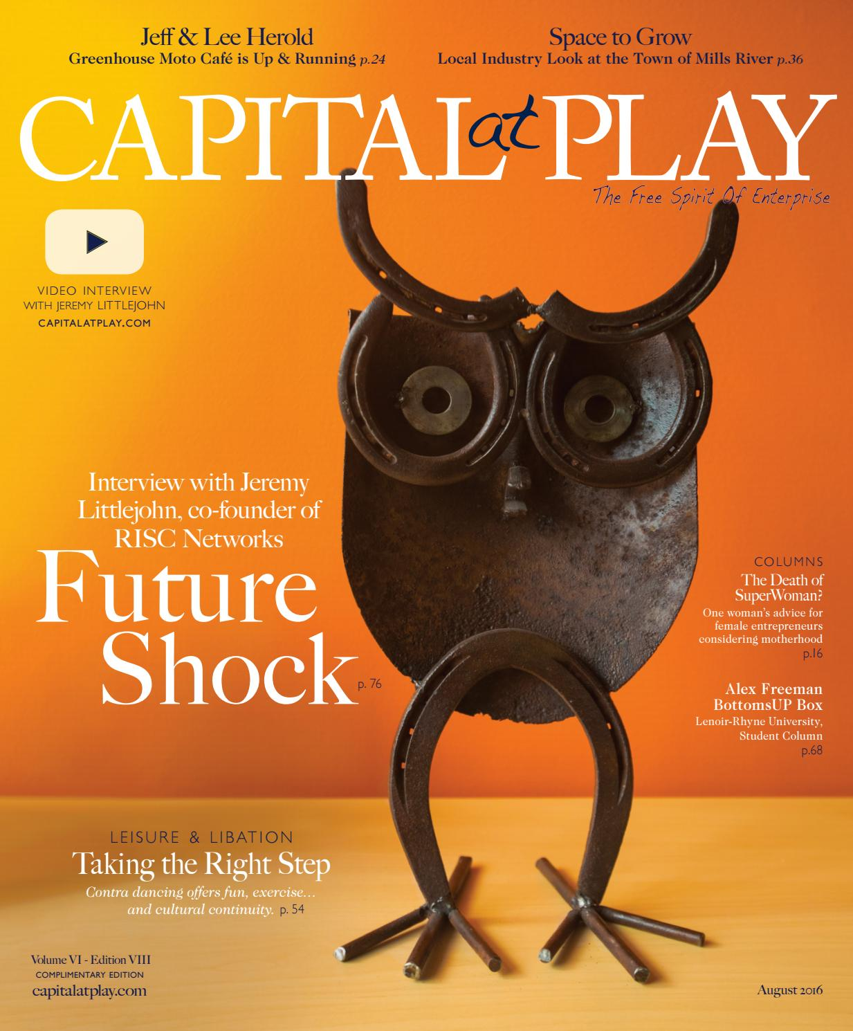 3655062bfbe8 Capital at Play August 2016 by Capital at Play Magazine - issuu