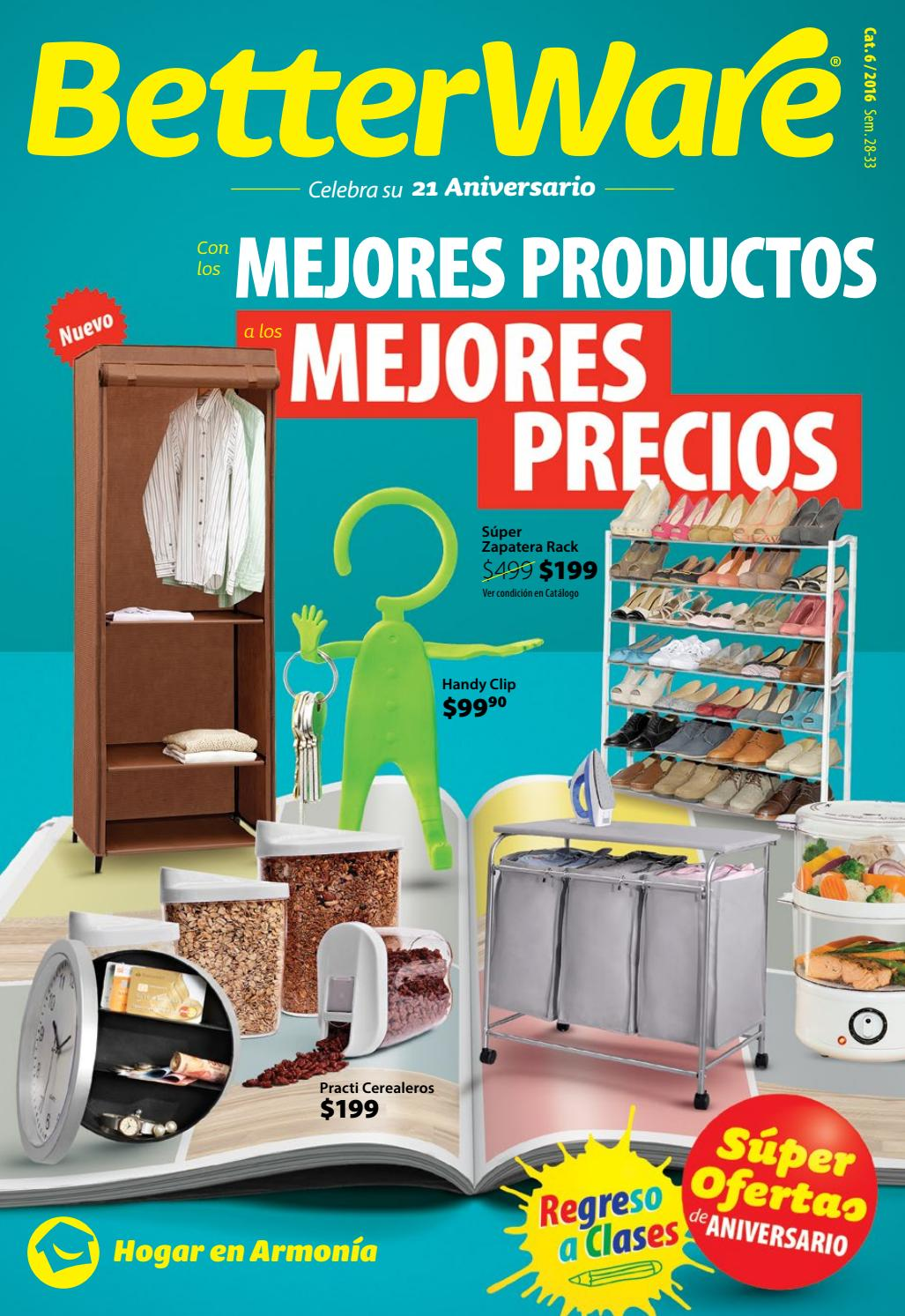 Betterware catalogo de 21 aniversario by super til y m s for Articulos modernos para el hogar