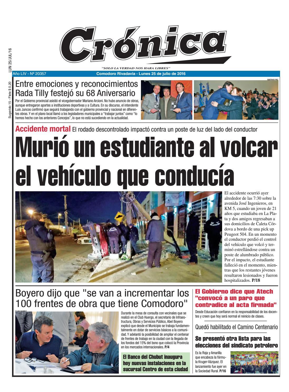 03e2c2804af67bcf1e9cfd1604a31daf by Diario Crónica - issuu