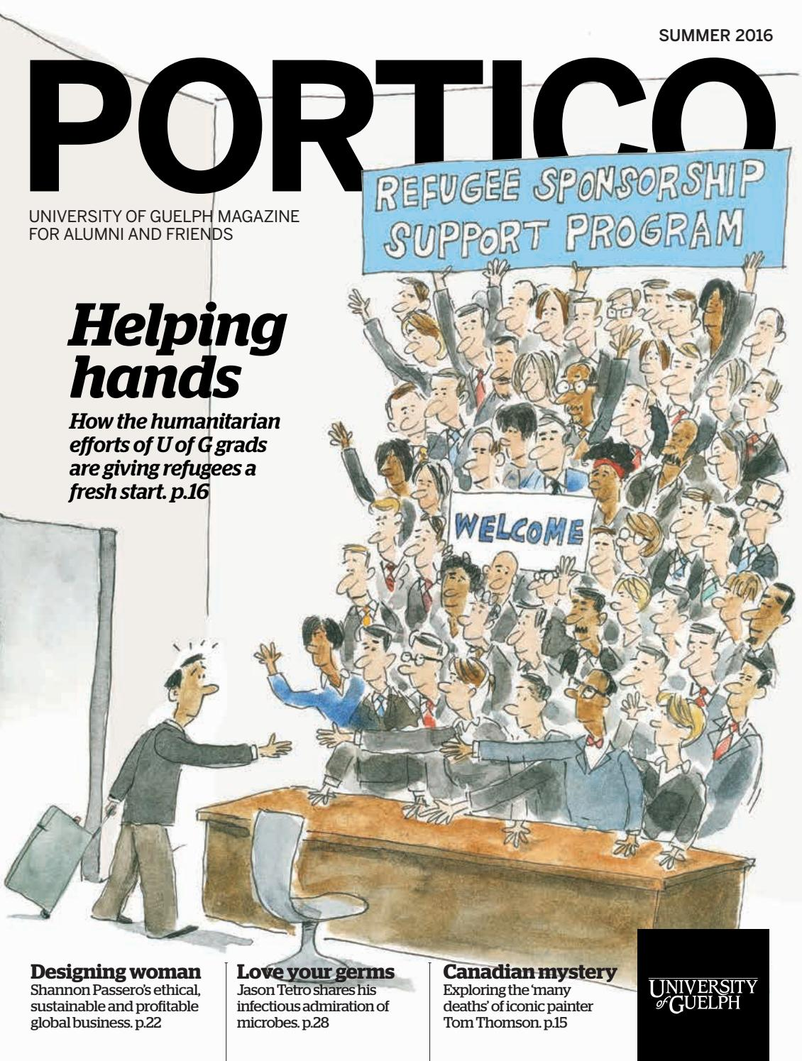 Portico Magazine, Summer 2016 by University of Guelph - issuu
