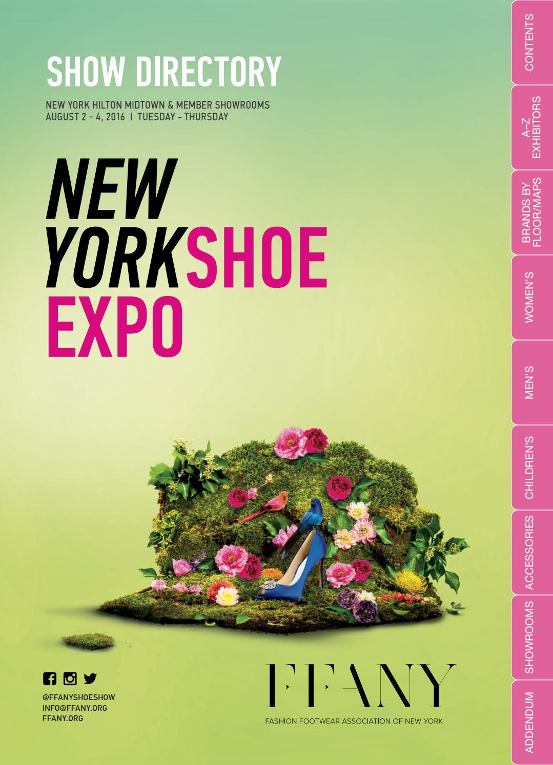 Ffany August 2 4 New York Shoe Expo Directory By Market Week Issuu