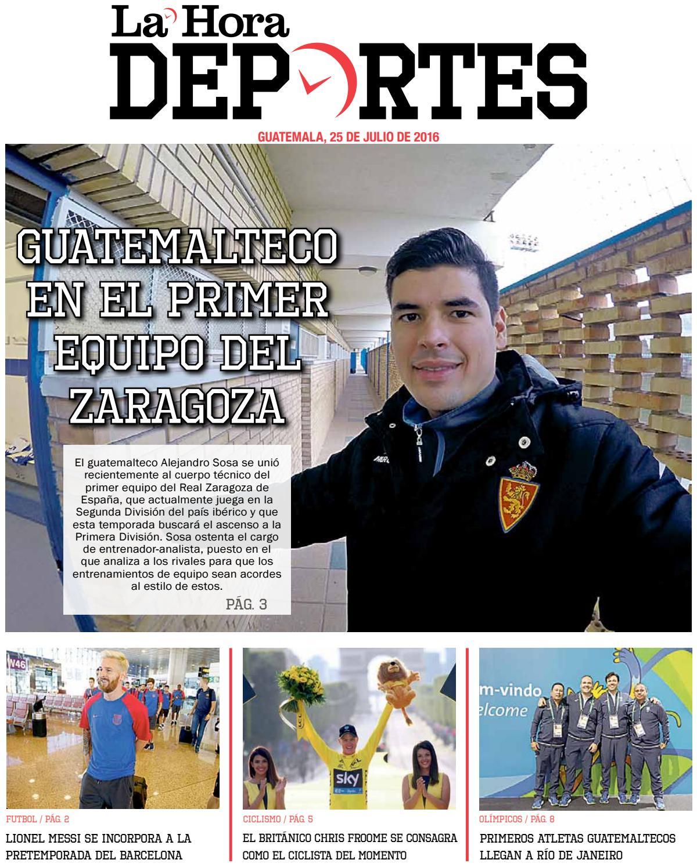 Deportivo 25-07-2016 by La Hora - issuu