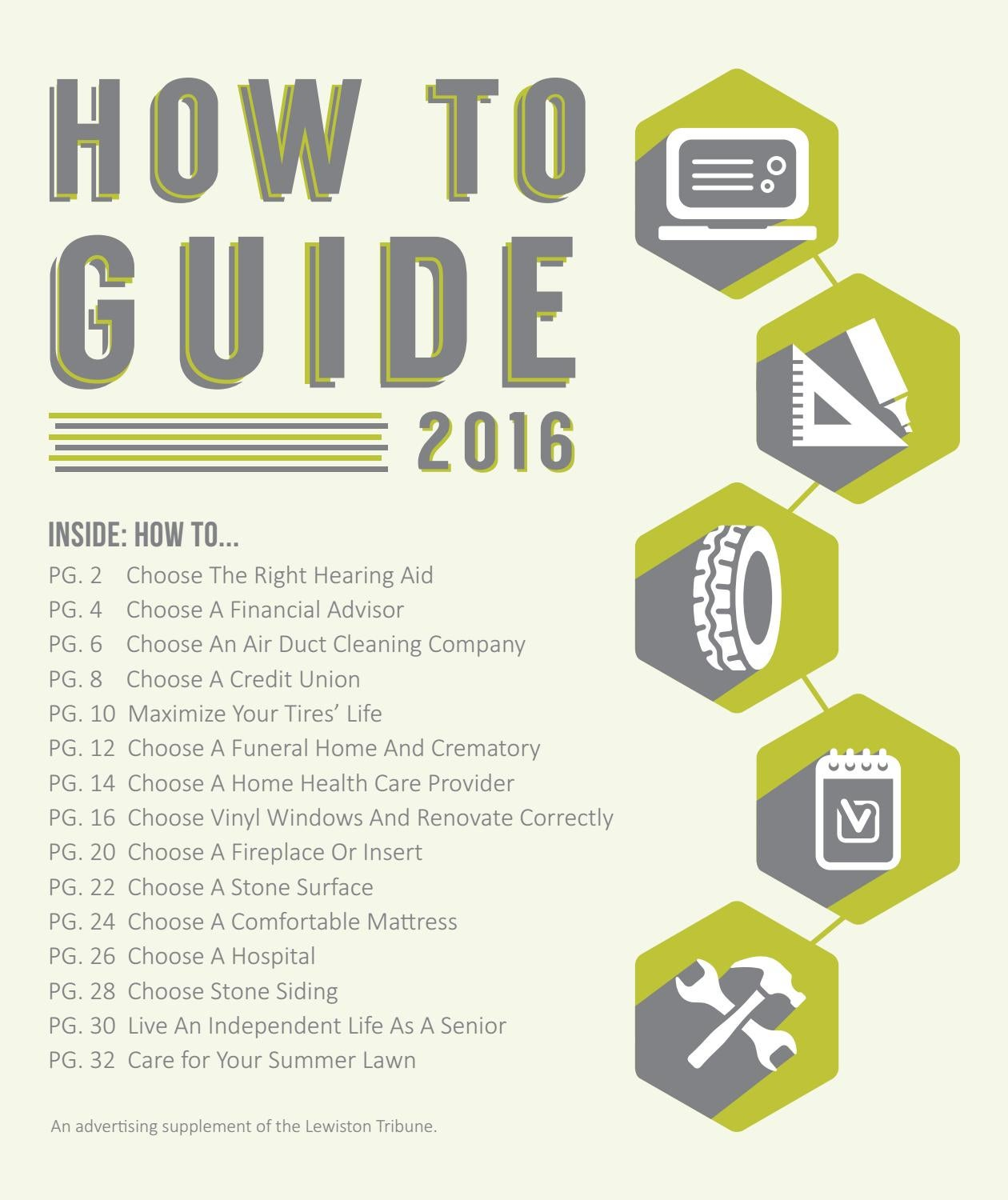 How To Guide 2016 By Lewiston Tribune Issuu