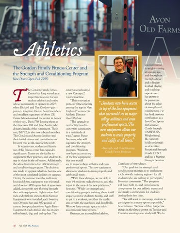 The Avonian, Fall 2015 by Avon Old Farms School - issuu