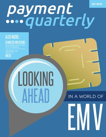 Payment Quarterly | Q3 2016 by Payment Week - issuu