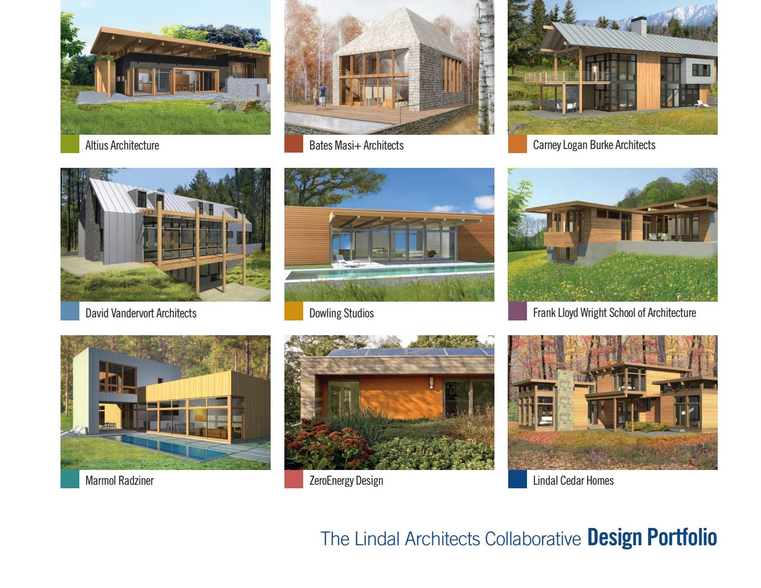 Architect designed homes for lindal cedar homes by the for Lindal homes floor plans