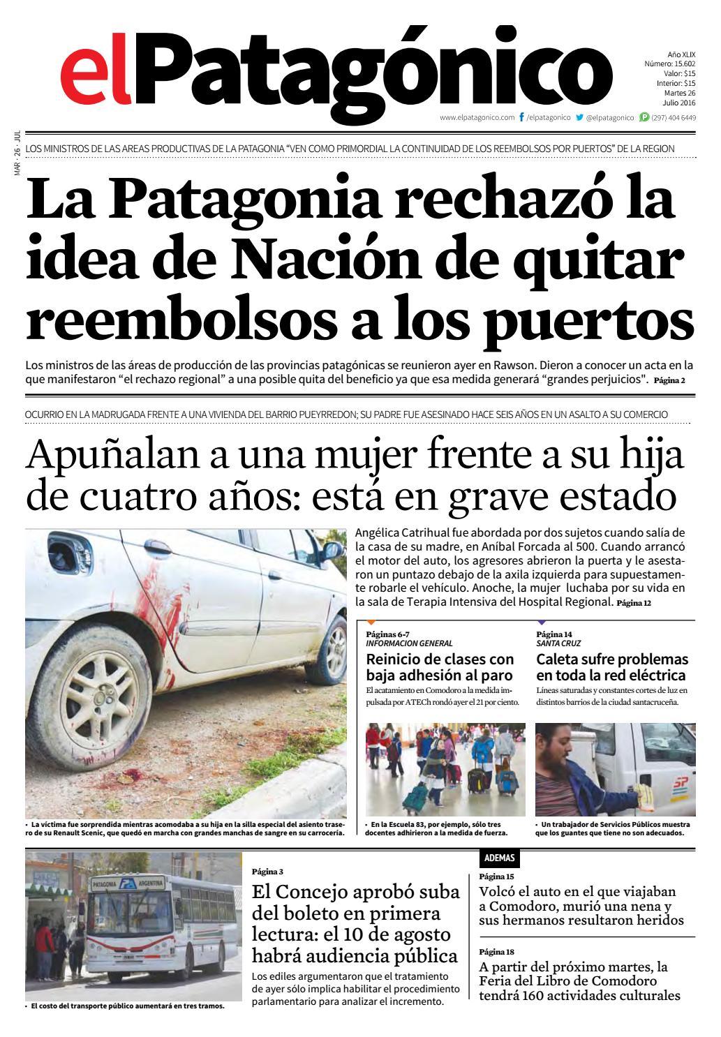 edicion223325072016.pdf by El Patagonico - issuu