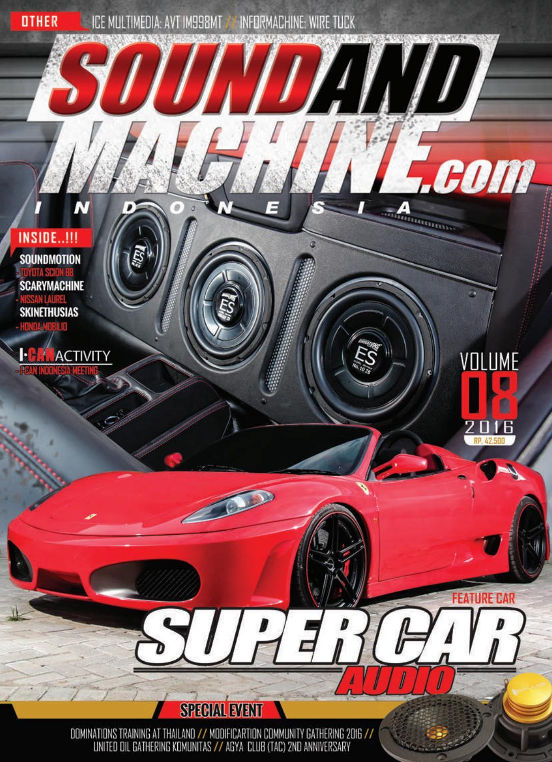 Soundandmachine Vol 8 By Soundandmachinemagazine Issuu Getas Super Ii Merah Isi 2
