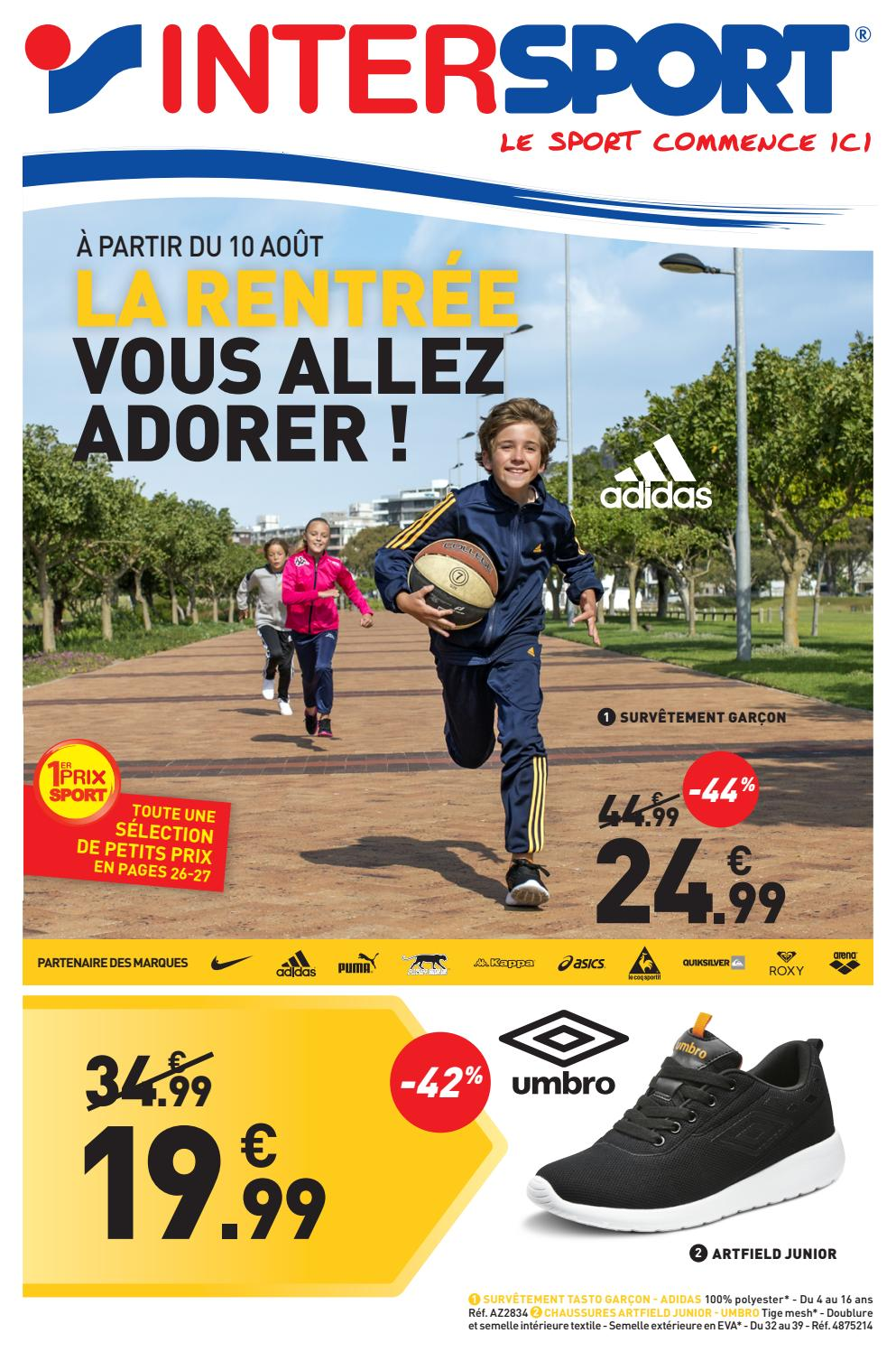 INTERSPORT RENTRÉE DES CLASSES (32 pages) by INTERSPORT