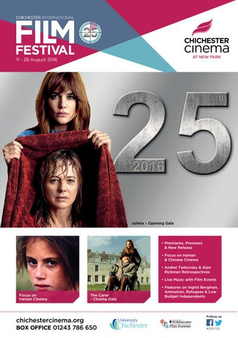 25th chichester international film festival by newparkcinema issuu page 1 malvernweather Gallery