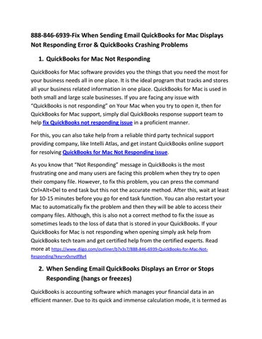 888-846-6939-QuickBooks Crashes on Saving as PDF or