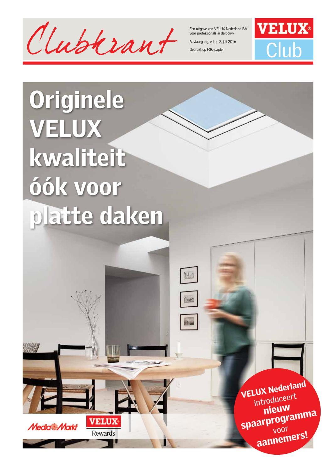 Velux clubkrant 2 2016 by velux nederland b v issuu for Velux prezzi 2016