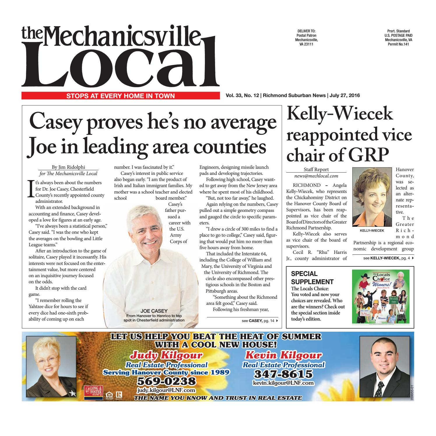 07 27 16 By The Mechanicsville Local