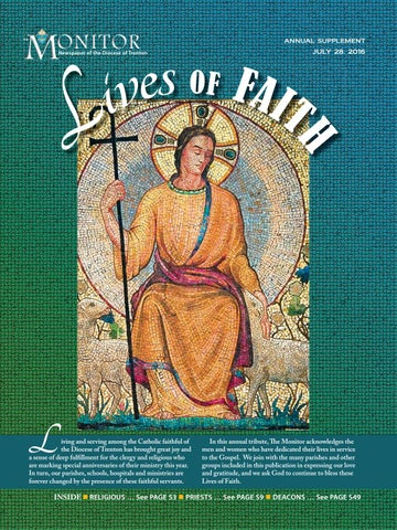 Lives Of Faith Monitor Supplement 7 28 2016 By Diocese Of Trenton