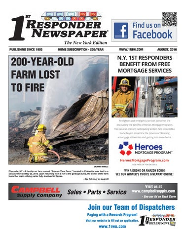 1st Responder New York August Edition by Belsito Communications Inc