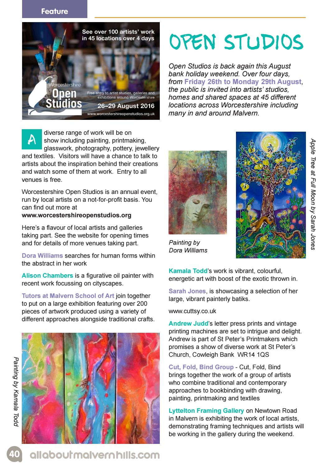 All About Malvern Aug/Sept 2016 by All About Local Magazines Ltd - issuu