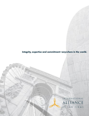 The International Alliance of Law Firms by Ally Law - issuu
