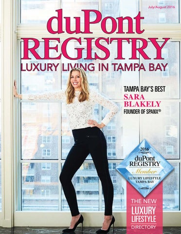 0a42840ad48c6d duPontREGISTRY Tampa Bay July/August 2016 by duPont REGISTRY - issuu