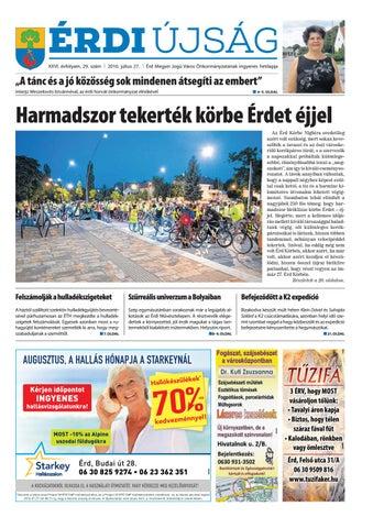 472955f24992 Érdi Újság - 2016.07.27. by Maraton Lapcsoport Kft. - issuu