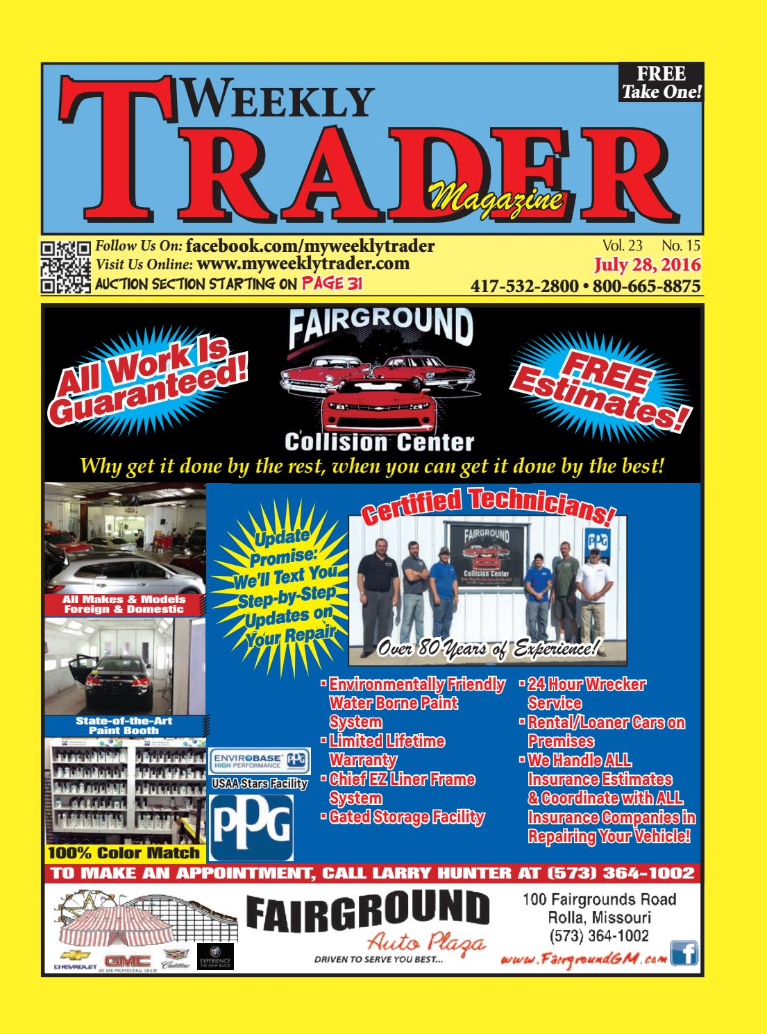 Weekly Trader July 28, 2016 by Weekly Trader - issuu