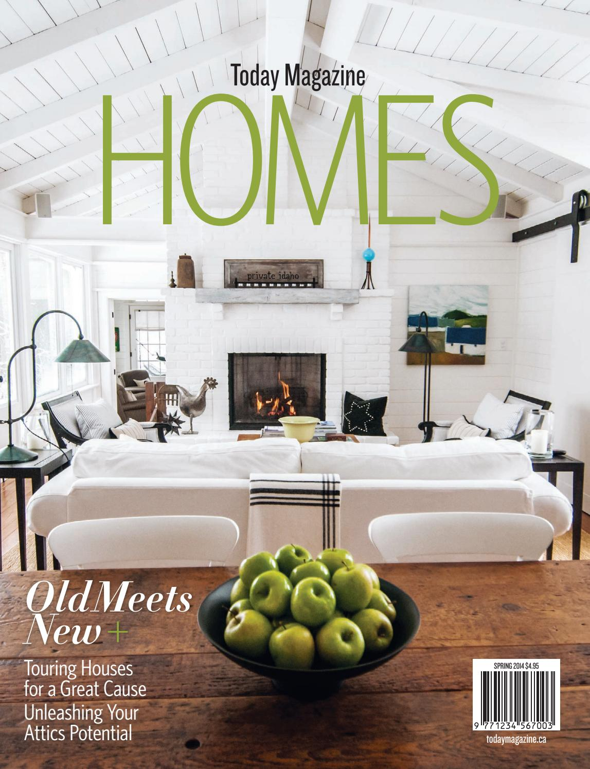 Homes March April 2014 By Todaymagazine Issuu