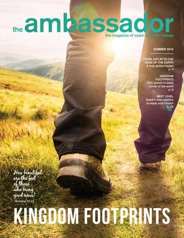 Spring-Summer 2016 Ambassador Magazine by Ozark Christian