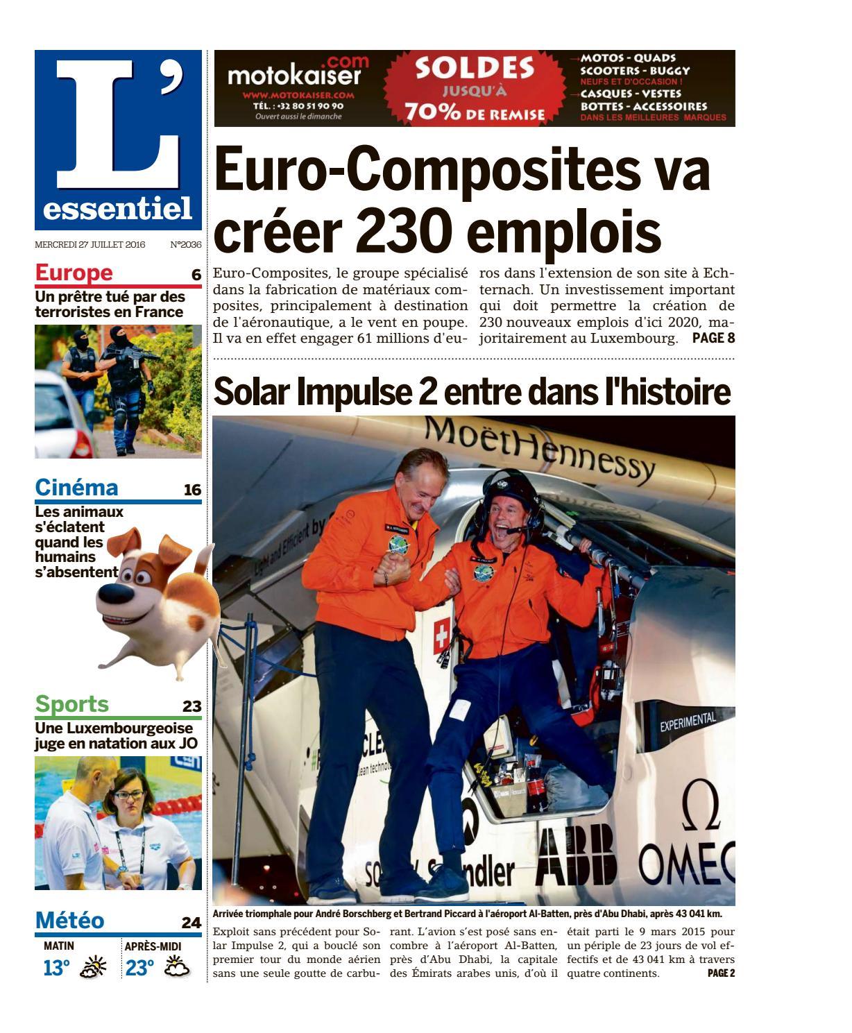 L essentiel epaper 2016-07-27 by L essentiel - issuu cf51c6163b8