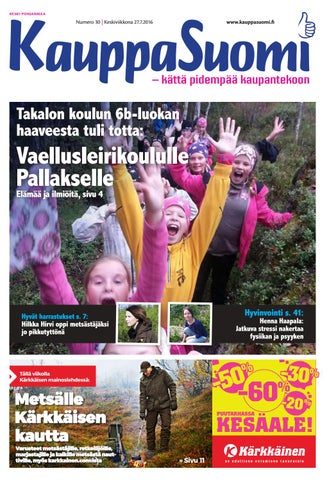 super popular 76065 b267f KauppaSuomi 30 2016 (K-P)