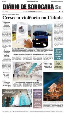 Edição de 27 de julho de 2016 by DIÁRIO DE SOROCABA - issuu cb54c5e98b2ab