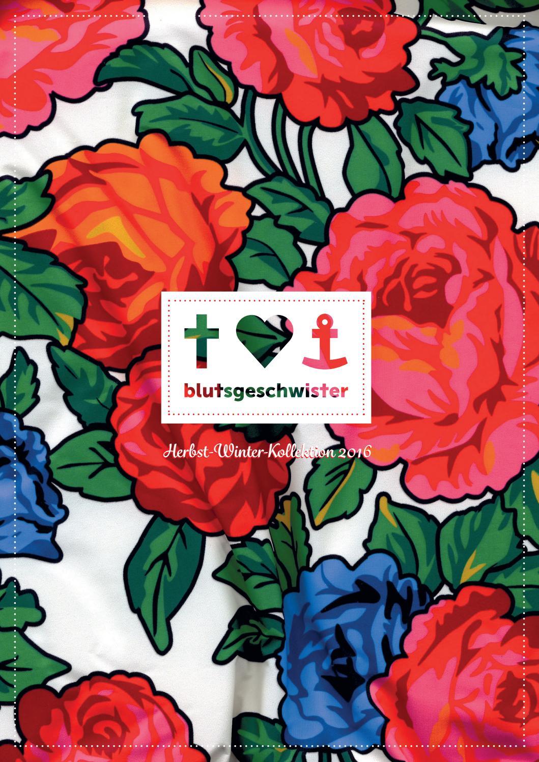 Blutsgeschwister Magazin Herbst-/ Winterkollektion 2016 by Blutsgeschwister  - issuu