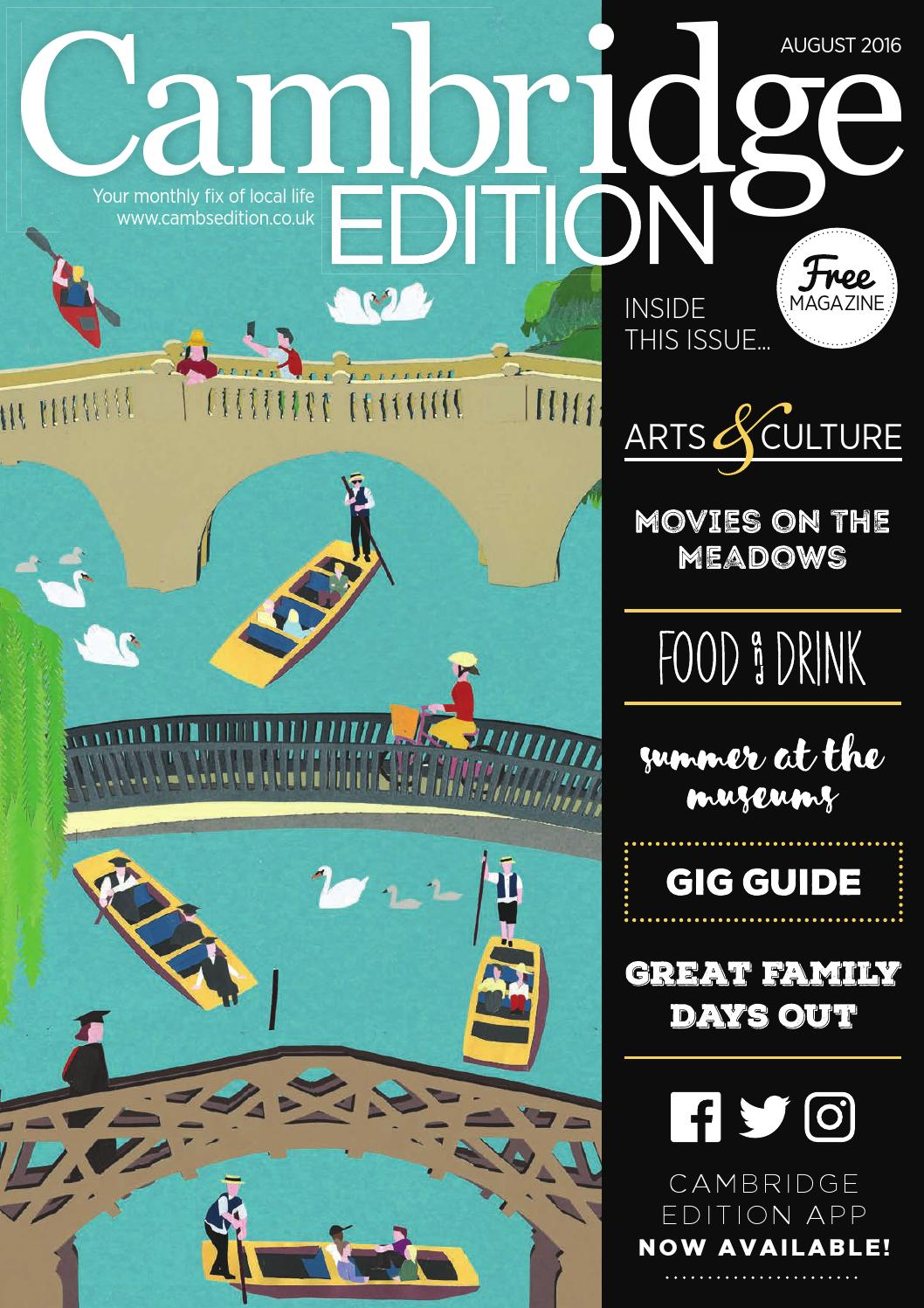 Cambridge Edition August by Bright Publishing - issuu