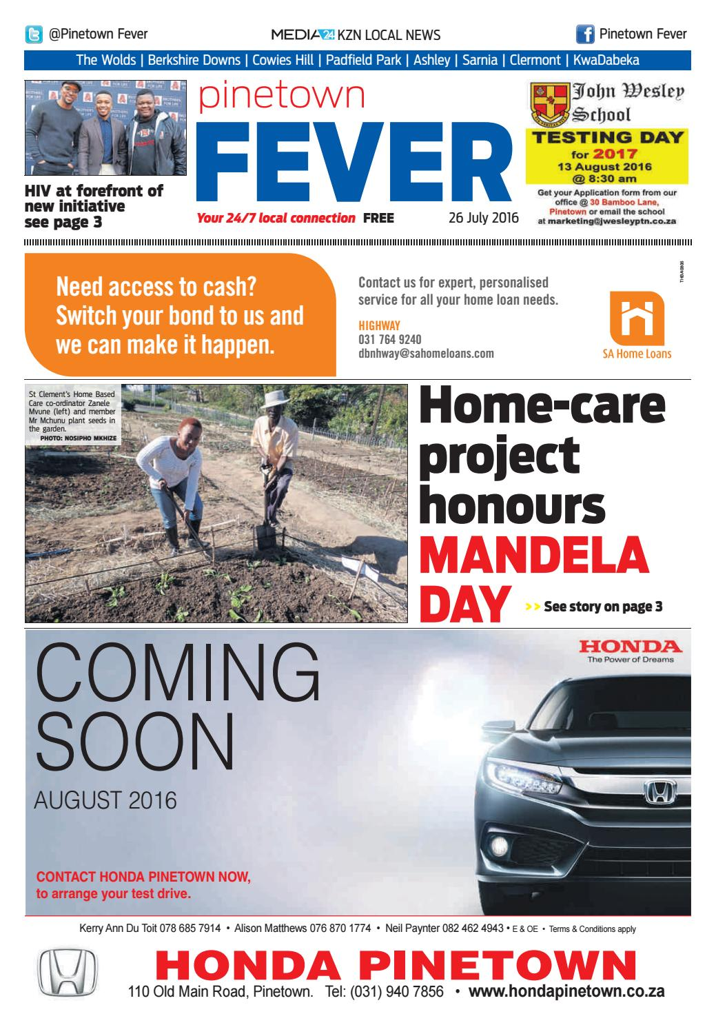 Pinetown Fever By Kzn Local News Issuu