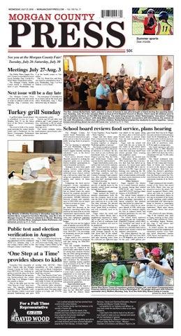 Morgan County Press July 27 2016 By Pipistrelle Press Issuu