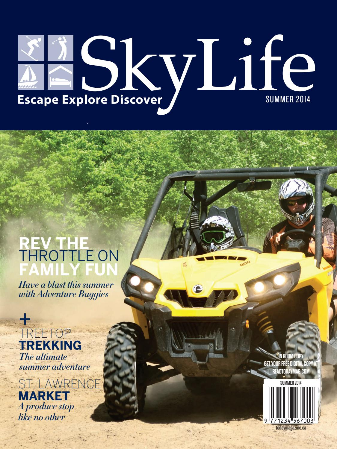 Skylife - Summer 2014 by TodayMagazine - issuu