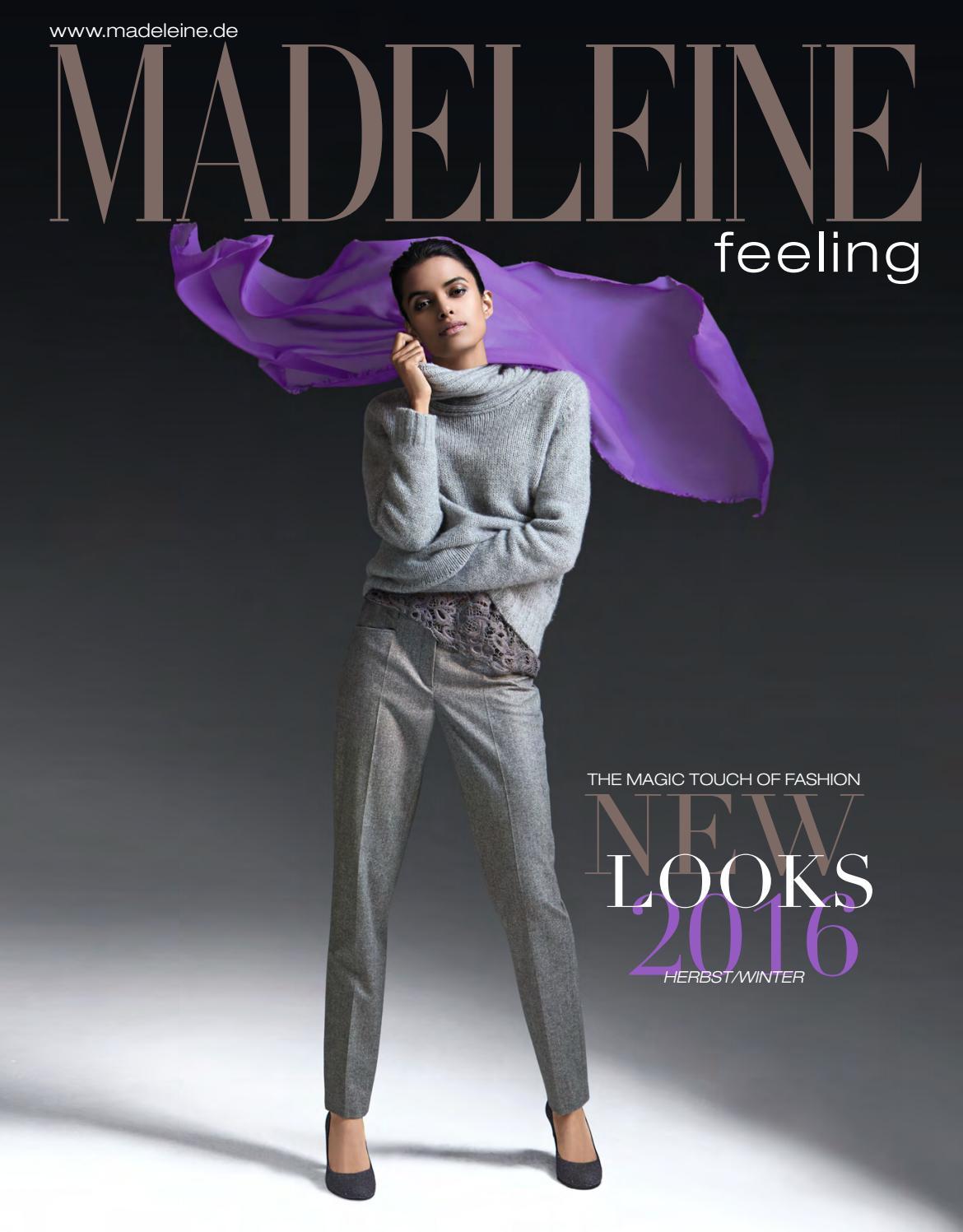 Каталог Madeleine Feeling осень зима 2016. Заказ одежды на