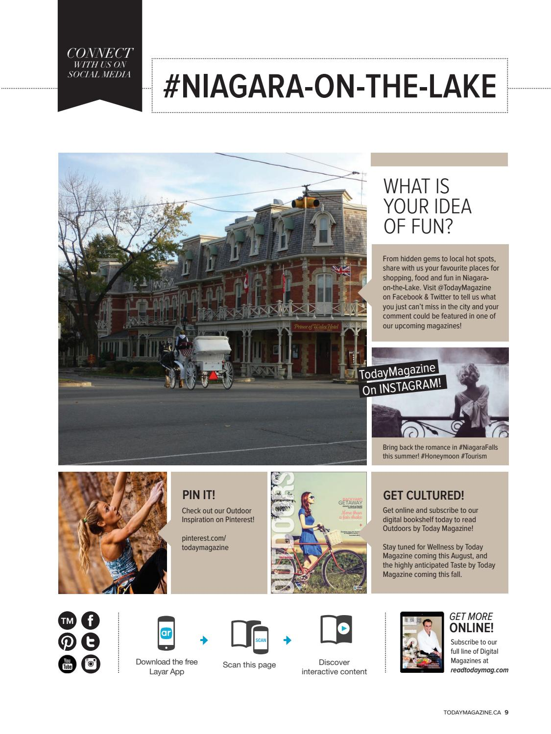 Niagara on the Lake - Spring/Summer 2015 by TodayMagazine
