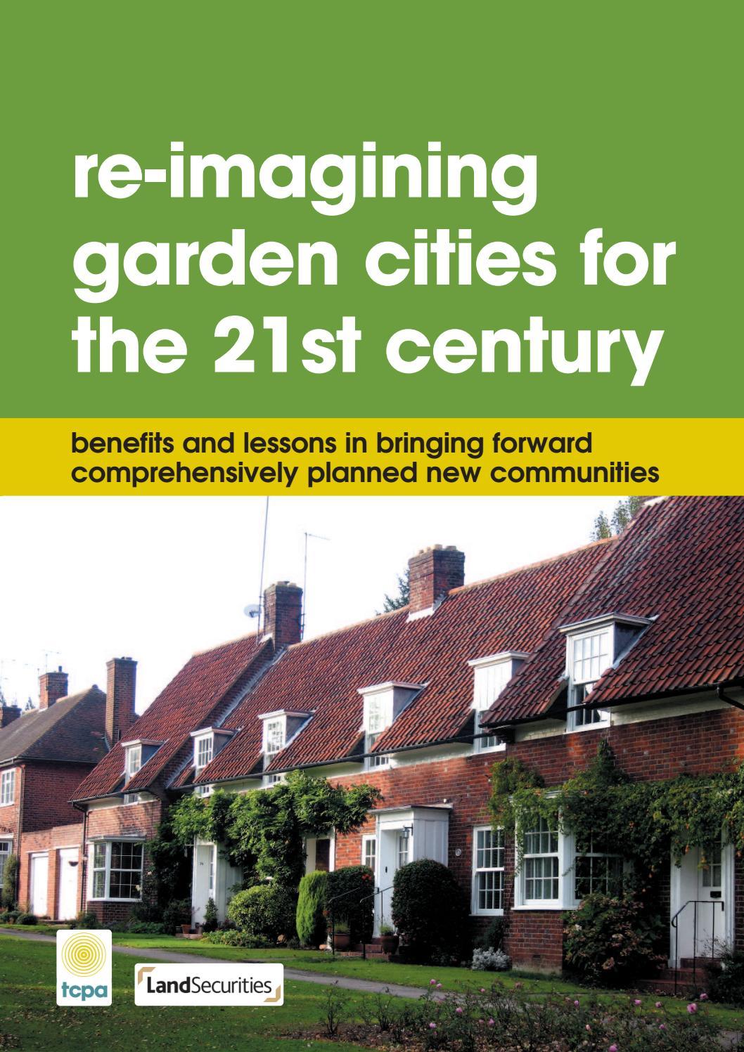 Re-imagining Garden Cities for the 21st Century: Benefits